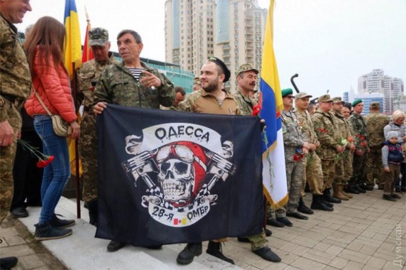 В Одессе празднуют годовщину освобождения от фашистов: не обошлось без провокаций