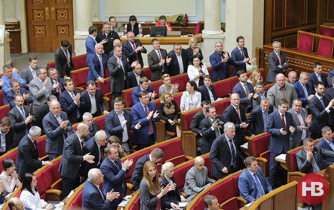 Парламент уволил 29 судей из 33. Все николаевские нардепы были сегодня в ВР