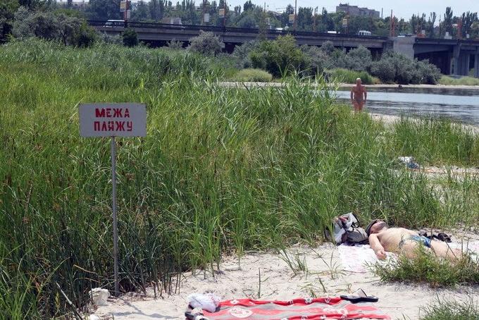 Ситуация на пляжах Николаева не идеальна: индекс кишечной палочки на Намыве превышает норму в 40 раз
