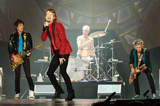 """The Rolling Stones открыли выставку """"Эксгибиционизм"""" и готовят новый альбом"""