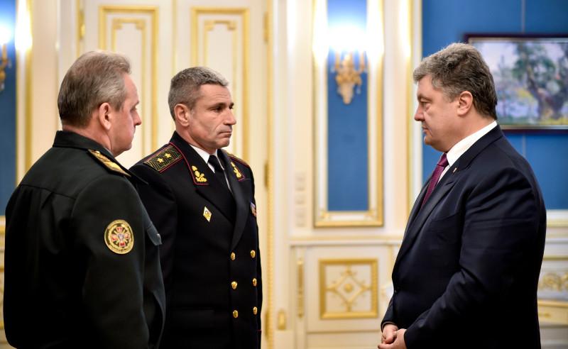 Новым командующим ВМС станет генерал, который отвечал за вывод военных на материк из оккупированного Крыма