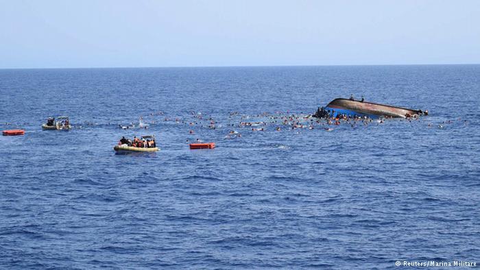 ООН: За три дня в Средиземном море утонули 700 беженцев