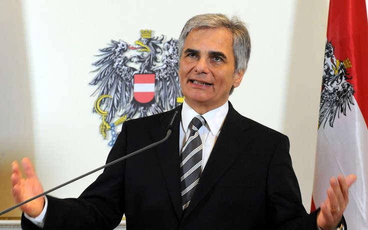 Канцлер Австрии подал в отставку