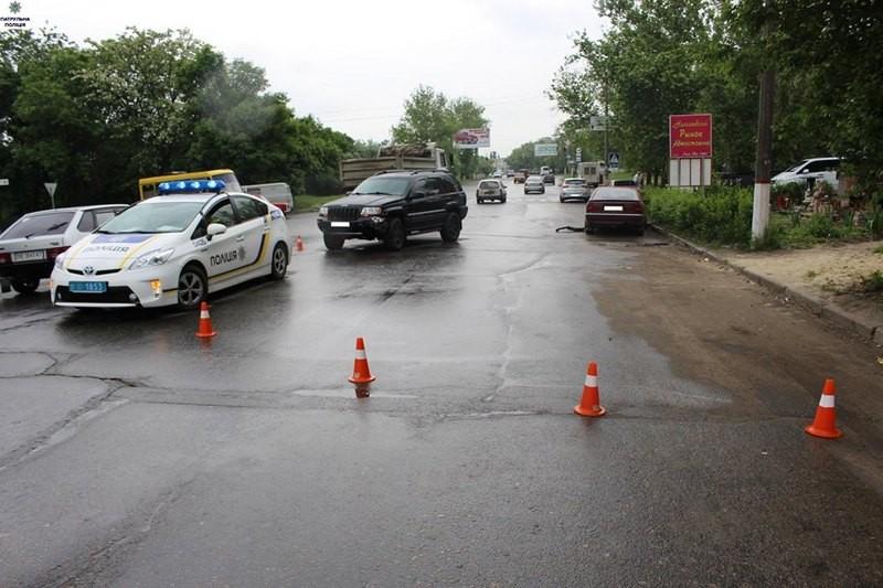 В Ингульском районе Николаева – ДТП с участием трех авто