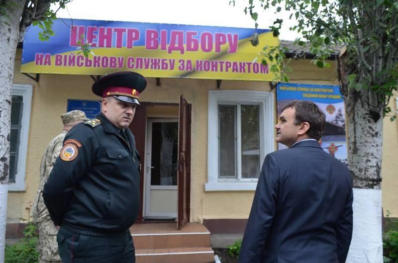 С начала этого года более 1 тысячи жителей Николаевщины вступили в ряды украинской армии по контракту