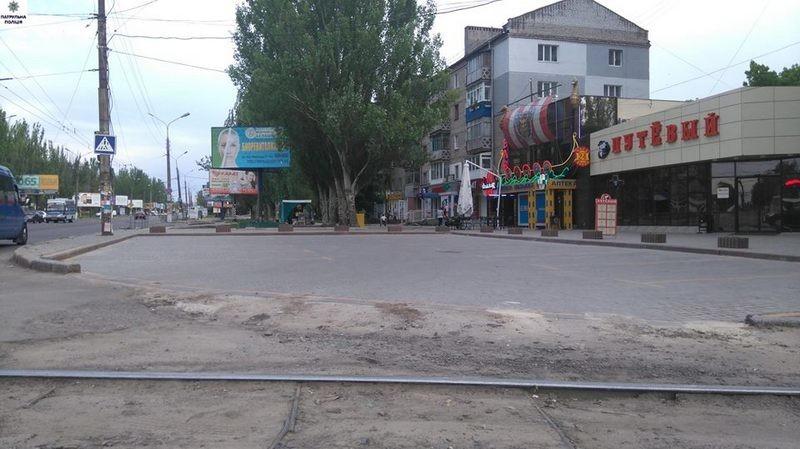 Патрульная полиция тоже пишет в Николаевский горисполком: на сей раз – по поводу камня