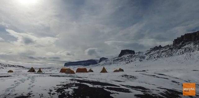 В Антарктиде обнаружили более тонны окаменевших динозавров