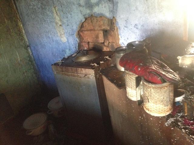 В Веселиново короткое замыкание привело к пожару в частном доме