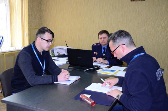 Николаевские полицейские рассказали представителям СММ ОБСЕ о сотрудничестве с общественными формированиями