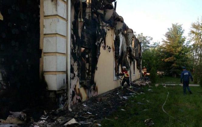 Дом престарелых под Киевом, в котором сгорели 17 стариков, был нелегальным
