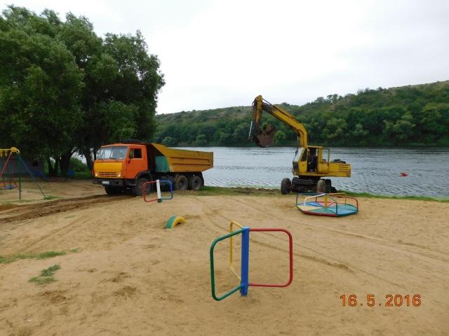 В Южноукраинске готовятся к пляжному сезону: городской пляж приведут в порядок уже к этой субботе