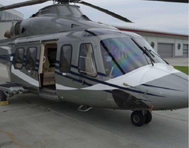 Янукович продаёт свой элитный вертолёт Agusta