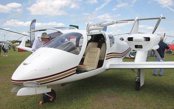 На авиашоу в США презентовали украинский самолет стоимостью в 550 тысяч долларов