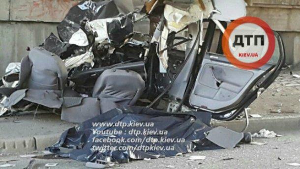 Украинский гонщик погиб в страшной аварии в Киеве