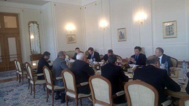 Украина и Иран договорились об активизации сотрудничества во всех сферах