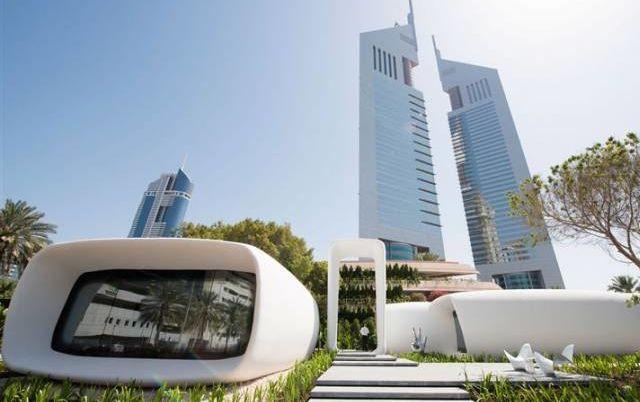 В Дубае открылось первое в мире офисное здание, напечатанное на 3D-принтере