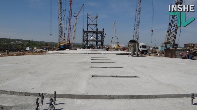 Строительство терминала «НИБУЛОНА»: фундамент есть!