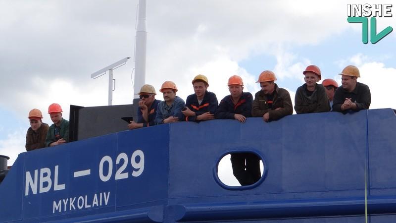 На судостроительном заводе «НИБУЛОН» состоялся спуск судна в рамках проекта по возрождения судоходства Южного Буга