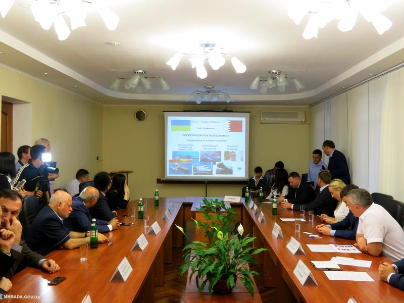 «Это спящий гигант» – Сенкевич рассказал бизнес-делегациям из Бахрейна и Китая о перспективах инвестирования в Николаев