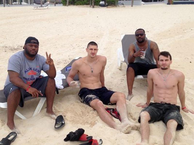 Украинский баскетболист из NBA спас утопающего в Доминикане
