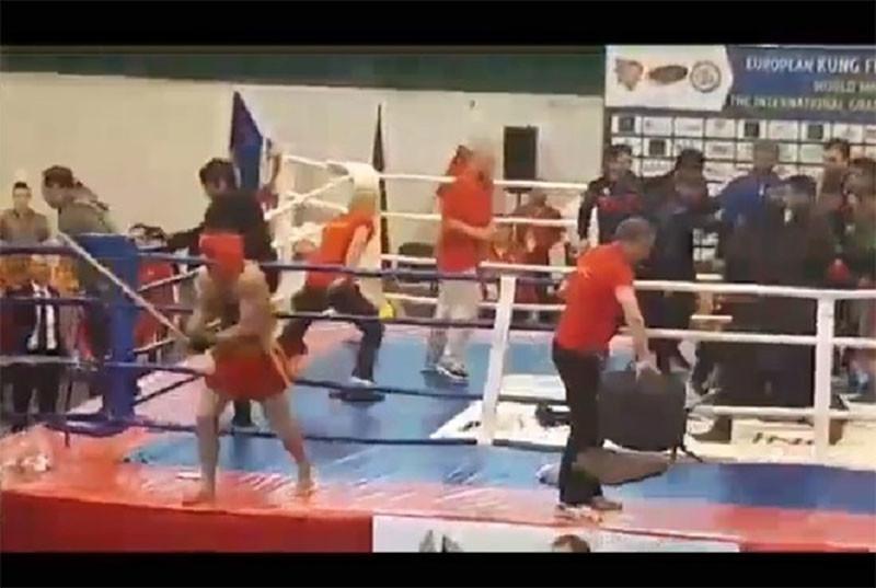 На чемпионате по кунг-фу во Львове произошла масштабная драка