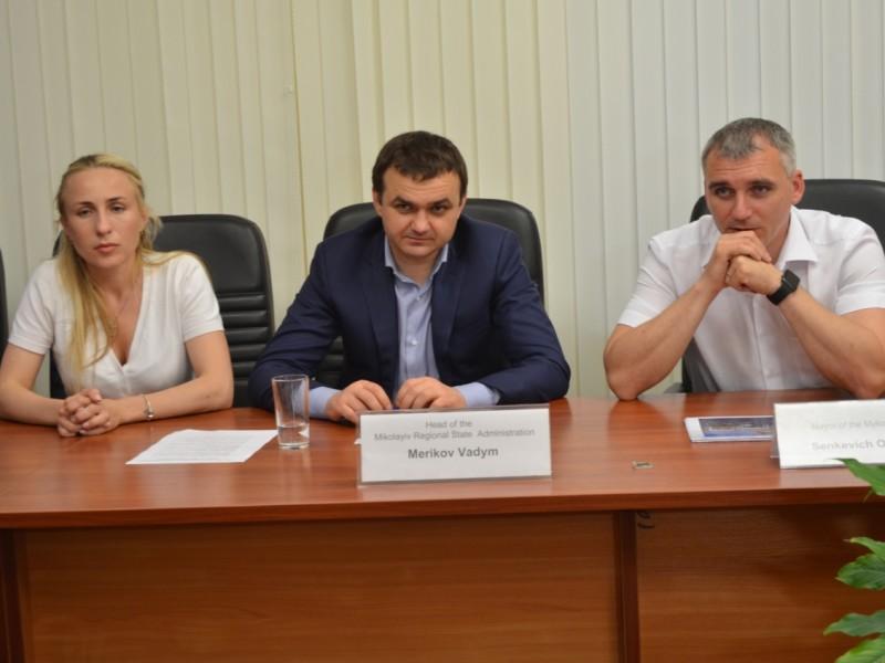 Николаевский облсовет подписал Меморандум о сотрудничестве с международной делегацией из Китая и Бахрейна