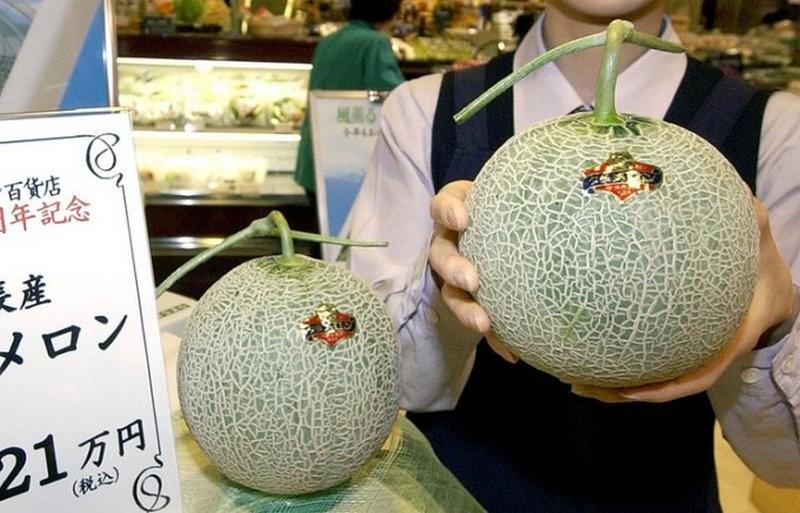 В Японии продали самые дорогие в мире дыни