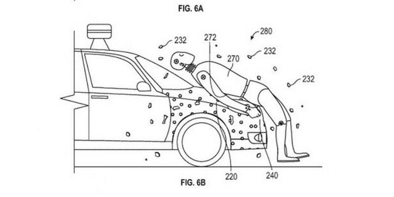 """Беспилотные автомобили Google будут покрыты """"липучкой"""" для пешеходов"""