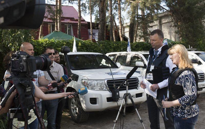 В Счастье ОБСЕ открыла новую патрульную базу