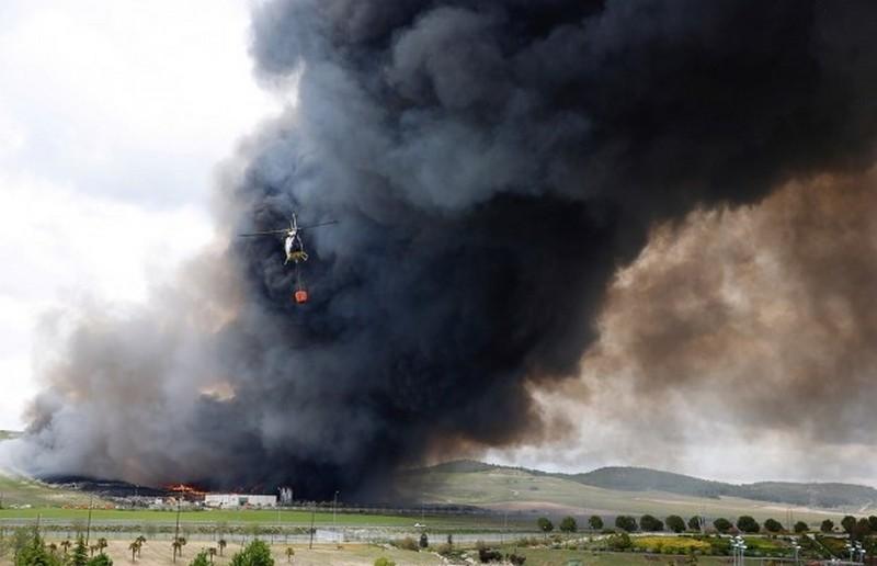 В РФ горит военный полигон. И сильно горит