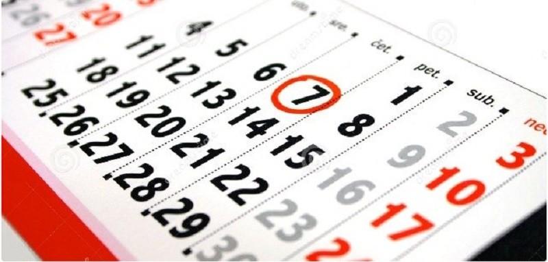 И снова о праздниках: в июне украинцы будут отдыхать 11 дней, а работать – 19