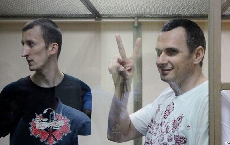 «Контакты осуществляются» – в Кремле сообщили, что решение по освобождению Сенцова и Кольченко остаётся за Путиным