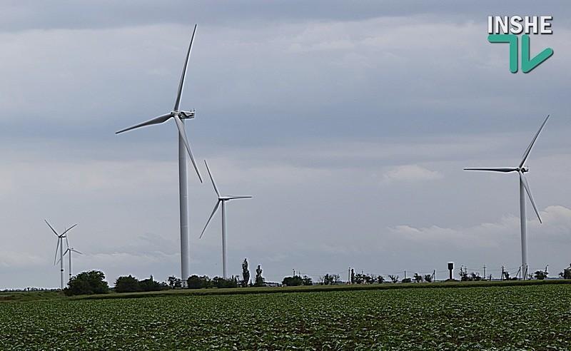 """Ветряной парк """"Причерноморский"""" ввел в эксплуатацию самую мощную в Украине ветроустановку"""