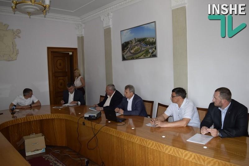 Сенкевич провёл собеседование с кандидатами на должность директора КП «Капитальное строительство города Николаева»