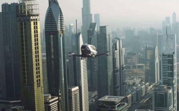 На крышах многоэтажных парковок в США построят площадки для аэротакси