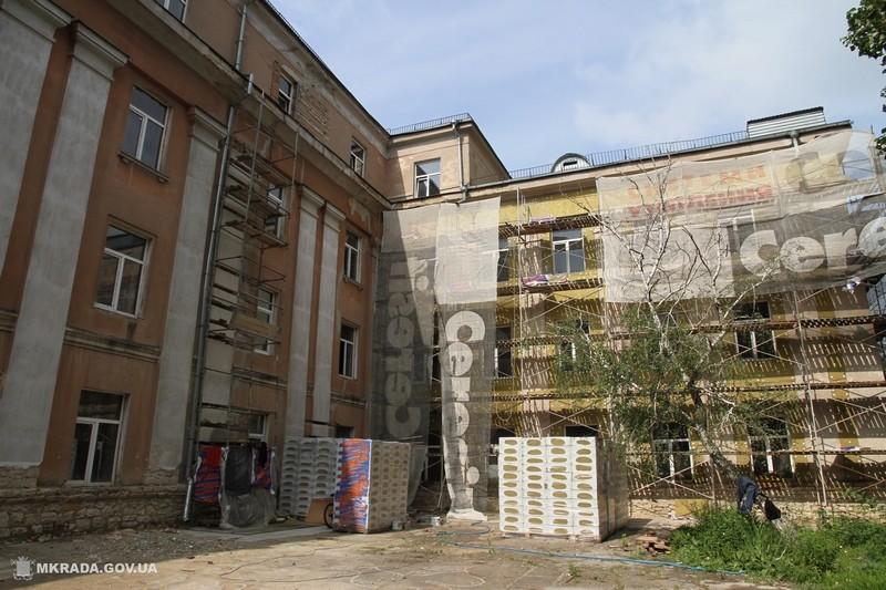 Ремонт 36-й школы в Николаеве. Лифт, пищеблок и спортзал