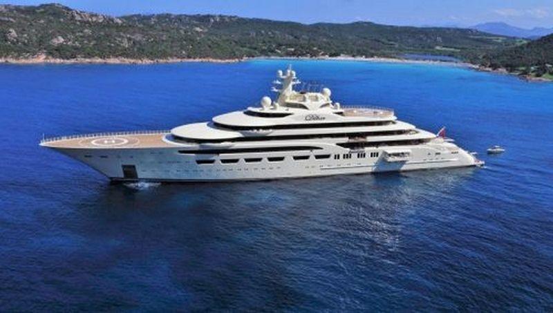 Новая яхта россиянина-миллиардера возглавила рейтинг люксовых судов
