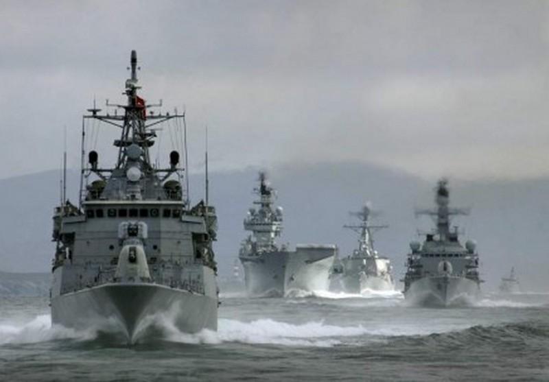 В Таллинн на учения прибыло 15 кораблей НАТО