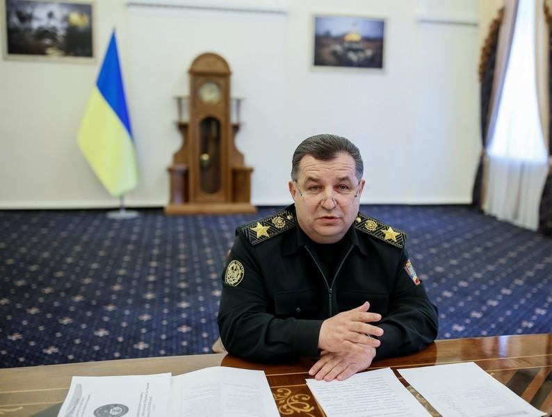 Министр обороны поздравил всех с Новым годом и обратился к демобилизованным и волонтерам