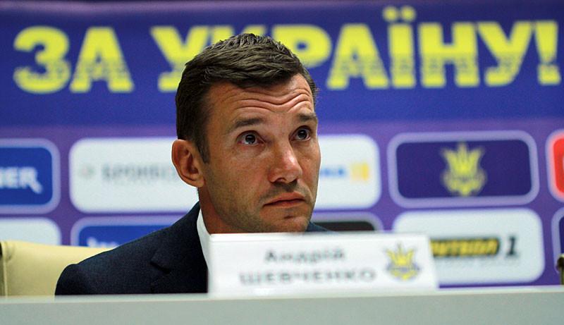 Тренер сборной Украины Андрей Шевченко взял на себя ответственность за невыход команды на ЧМ-2018
