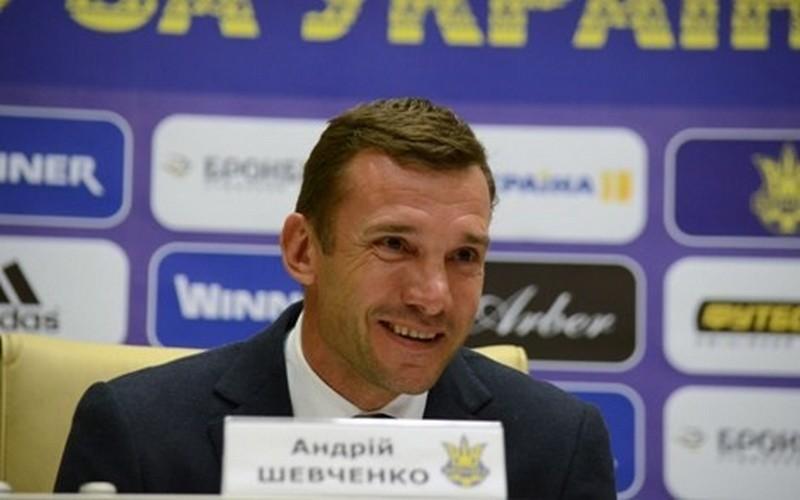 Шевченко стал главным тренером сборной Украины по футболу