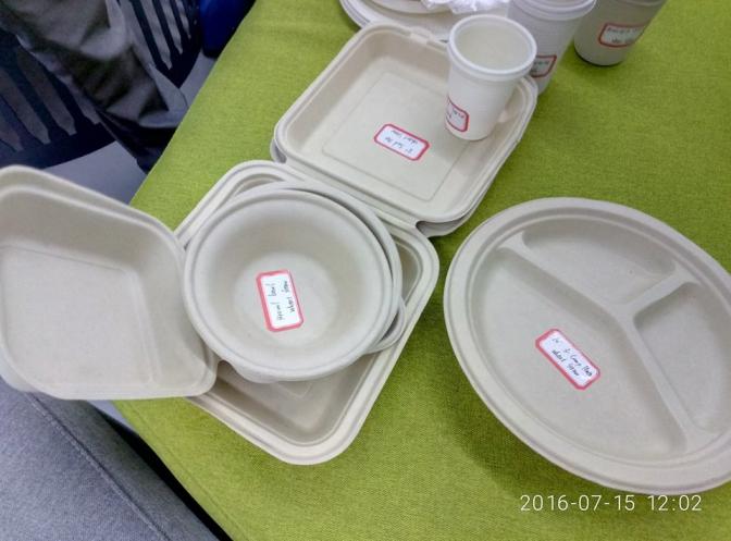 В Украине придумали одноразовую посуду, которая после использования превращается в удобрения