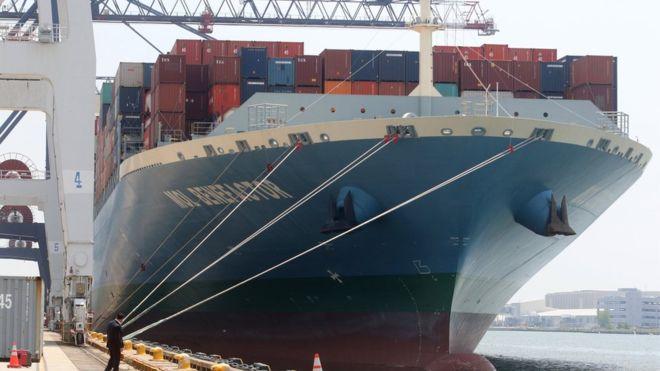 Китайское судно врезалось в стену Панамского канала