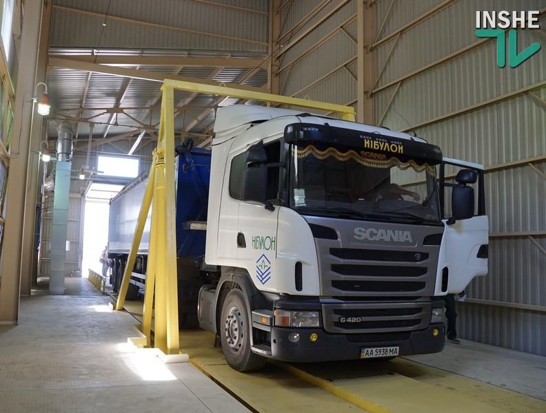 Новый терминал «НИБУЛОНА» принял первое зерно нового урожая