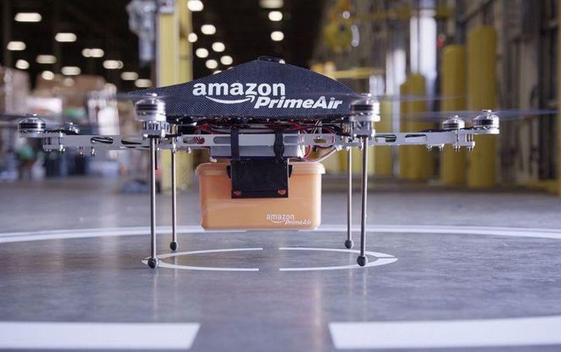 Правительство Великобритании разрешило Amazon испытывать дроны для доставки