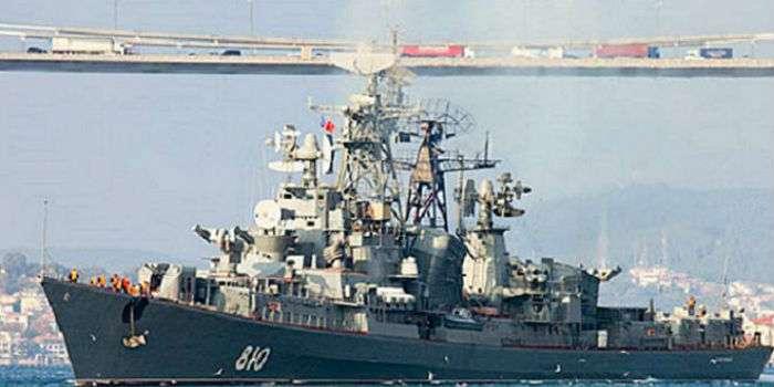 У берегов Турции был зафиксирован российский корабль с танками на борту