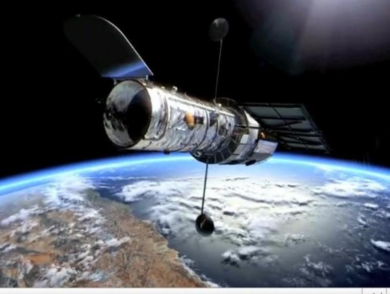 "Hubble сделал снимок ""убегающей"" галактики (ФОТО)"