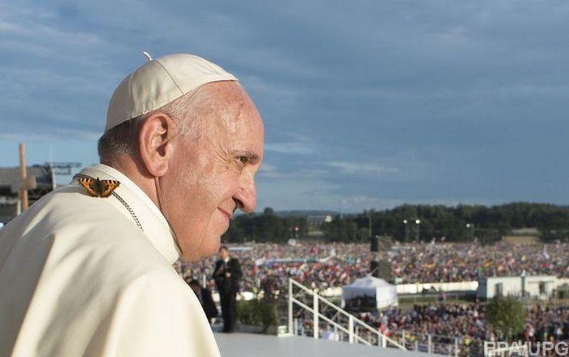 Папа Римский: удовольствие, которое приносят хорошая еда и секс, исходит от Бога
