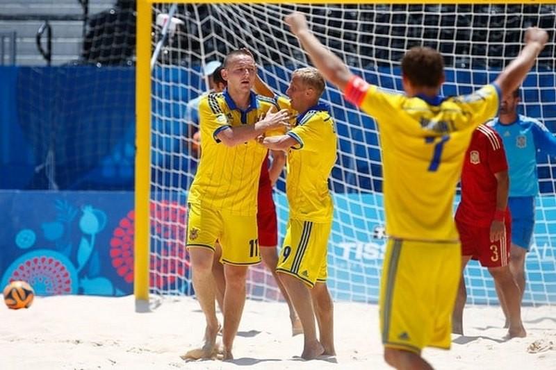 Сборная Украины выиграла Суперфинал Евролиги по пляжному футболу