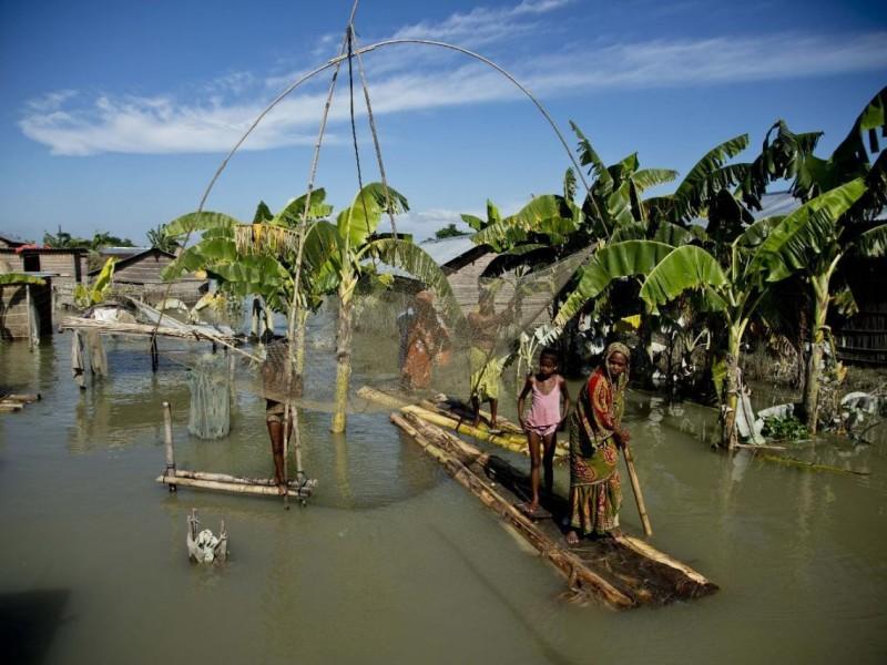 Наводнение в Индии. Погибли 96 человек